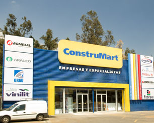 Fachada Construmart