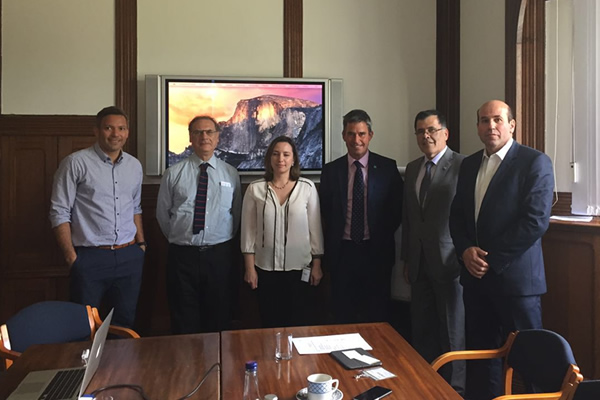 Socio De PMG Chile Se Reúne Con Directiva Del Building Research Establishment (BRE) En Inglaterra
