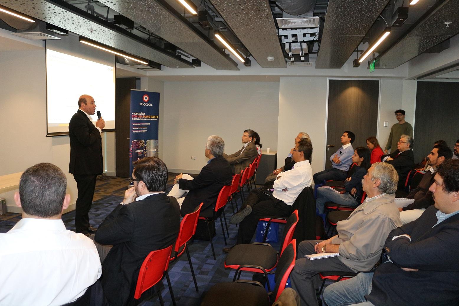 Socio Director De PMG Expone Sobre Productividad En Construcción En Lanzamiento De Nueva Línea De Tricolor